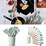fnemo 1pcs Herramienta de Cocina de Utensilios de Cocina de Silicona Resistente al Calor práctica y Duradera Accesorios 17