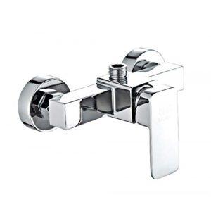 Grifos Baño Monomando Lavabo Grifo Válvula Mezcladora De La Ducha De Agua Fría Y Caliente Del Grifo Del Baño De Dos Pulg. 5