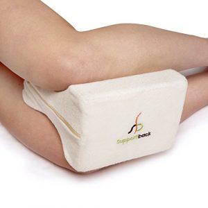 Supportiback® Cojín ortopédico para ciática, espalda, caderas, articulaciones, alivio de dolores de embarazo y dormir de lado - Diseño ergonómico médico contorneado con espuma de memoria 6