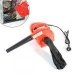 MOMOJA 1000W Soplador eléctrico de Hojas Soplador de Hojas con Bolsa de Polvo para computadora Limpieza de automóviles 13000r / min Rojo 20
