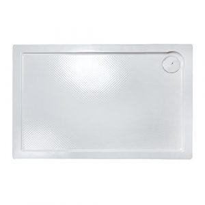 Plato de ducha rectangular PORTA 110x70 Relieve 3