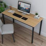 soges 138x55cm Escritorios Escritorio de Oficina Mesa de Estudio Mesa de Ordenador Puesto de Trabajo Mesa de Despacho,GCE1AC3-120BW 11