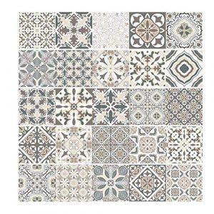 PiniceCore Adhesivo de azulejo para la Cocina Cuarto de baño de PVC Auto-Adhesivo de Pegatinas de Pared de la Sala Decoración Papel Impermeable de la Etiqueta 1