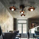 Lámparas de techo rústicas